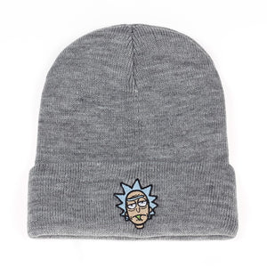 Rick Beanies Rick Sanchez from Rick and Morty Embroidery Hats