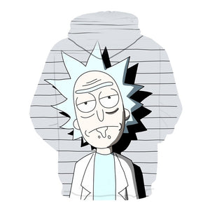 Rick Sanchez From Rick and Morty Sweater