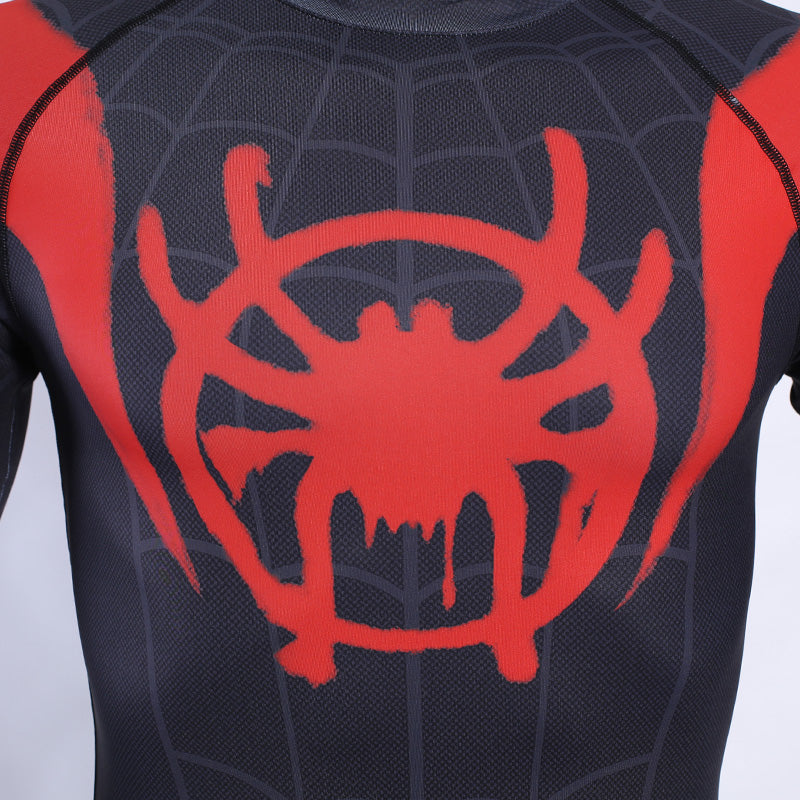 Spiderman 3D Printed T shirts Men Compression Shirts 2019