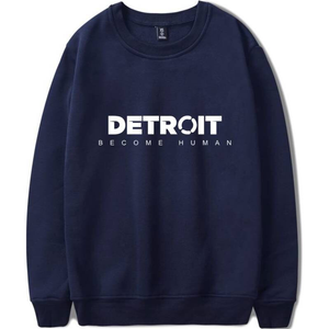 Steelers Hoodie Detroit Become Human Grey Sweatshirts