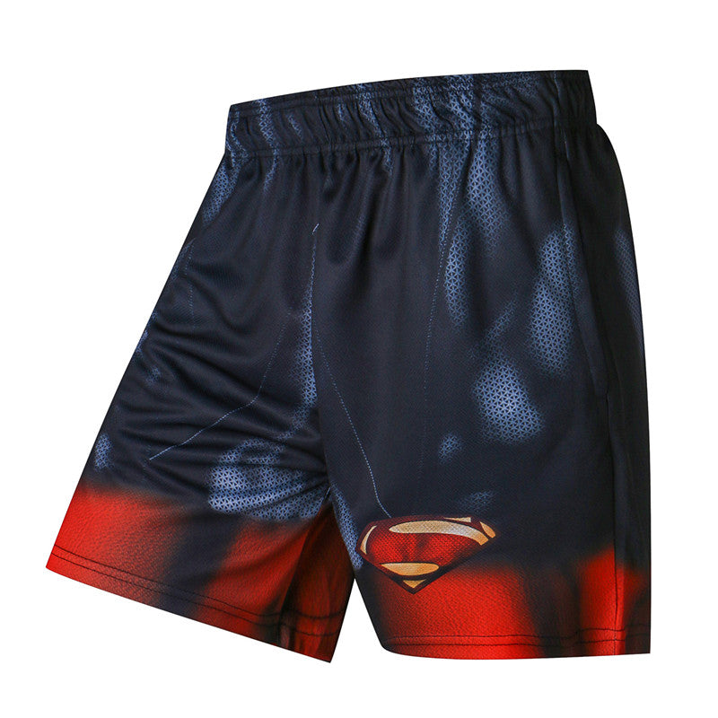 SuperMan Compression Shorts Quick Dry for Men