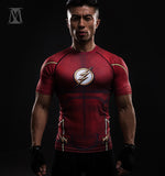 The Flash TV Series Compression Shirt (Short Sleeve 3d Tshirts)