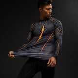 The Flash TV Series Savitar Long Sleeve Compression Shirt
