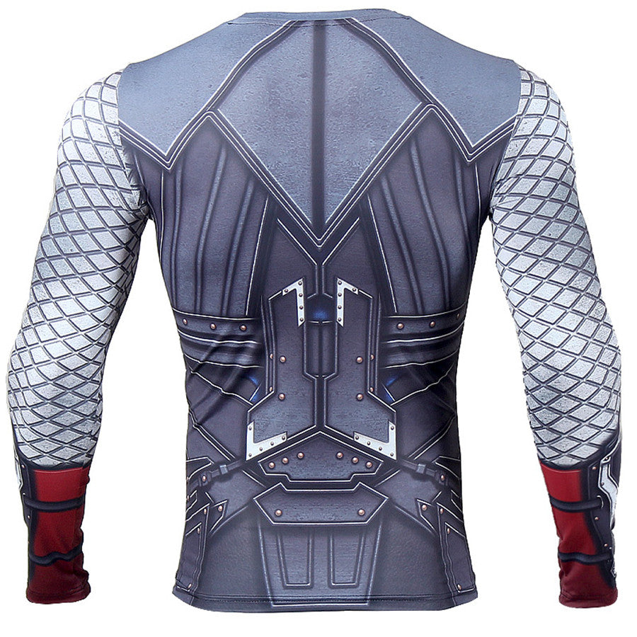 Thor Long Sleeve Compression Shirt - Newmeup