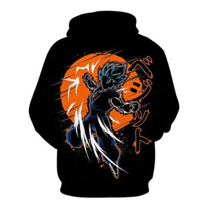 Super Saiyan Dragonball 3D Christmas Hoodies