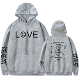 Lil Peep Love Hoodie Adults Love Lil Peep Sweatshirts