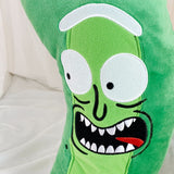 Pickle Rick Pillow Rick And Morty Pickle Rick Plush Pillow Large Size
