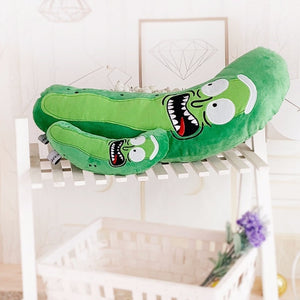 Rick And Morty Pickle Rick Plush Toys Super Cute and Soft for Kid 21 inches
