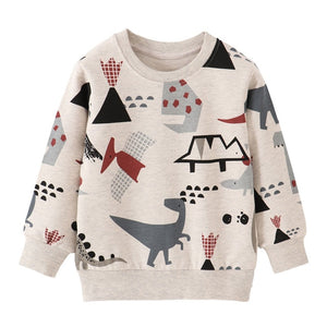 Little Kids Dinosaur Sweatshirts Luxury Children's Dinosaur Clothes For Boy