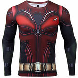 Robin 3D Printed T shirts Men Long Sleeve Compression Shirt New Cosplay 2017