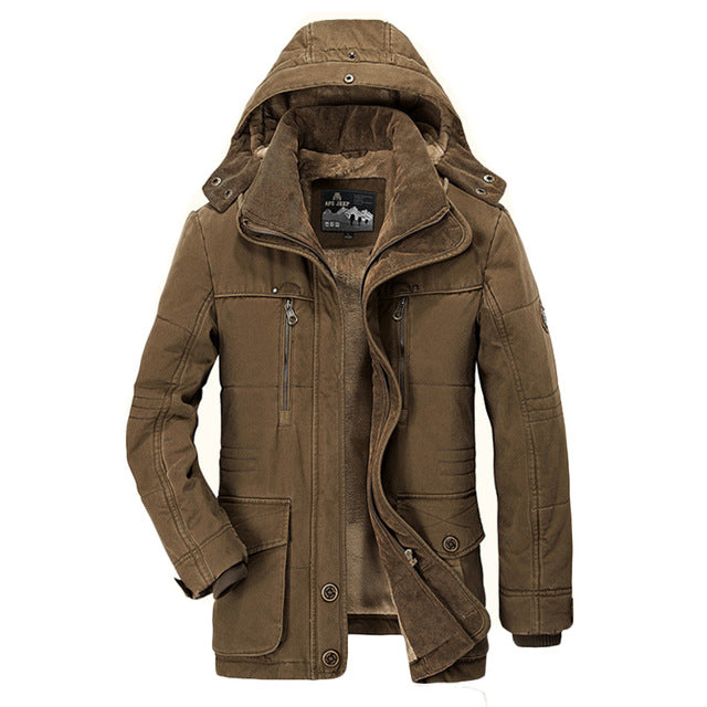 Padded Jacket Mens Winter Down Jacket Outwear Coats