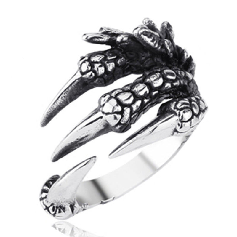 Metal Dragon Claws Ring
