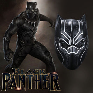 Black Panther Men's Black Panther Mask - Newmeup