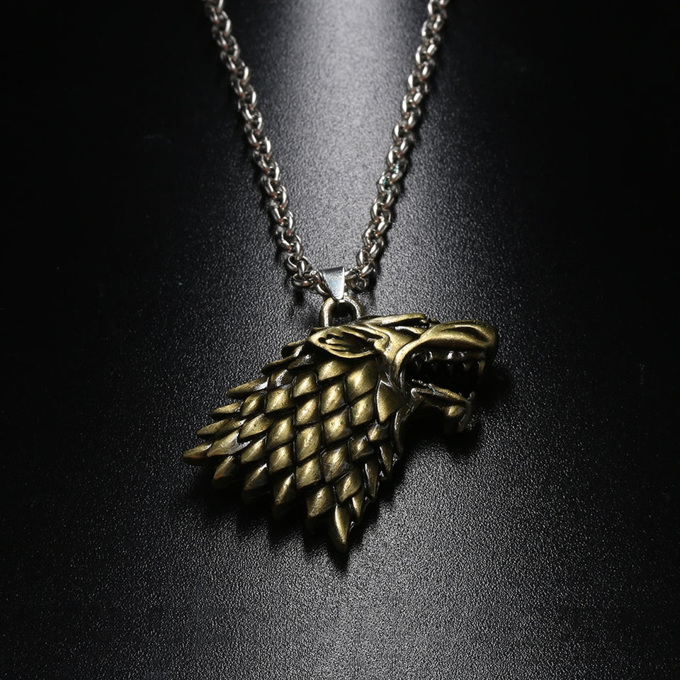 Wolf Chain Necklace Game of Thrones