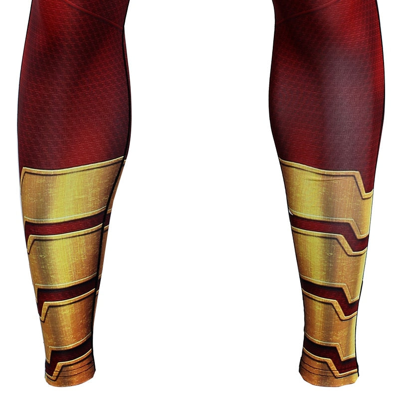 Shazam 3D Compression Tights Pants Men 2019 Sweatpants Fitness Skinny Leggings