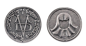 Game of Faceless Thrones Coin