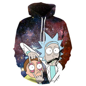 Rick And Morty Pilot Hoodies 3D Printed Sweater