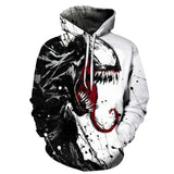 Spiderman Venom 3D Pritned Fashion Hoodie Sweater