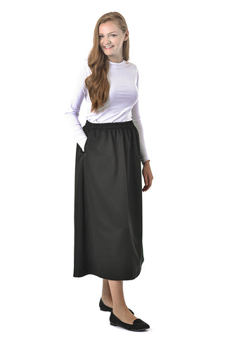 Women's Elastic Waist Skirt - 35 Inches