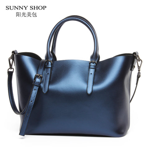 Grand sac à main en cuir SUNNY SHOP