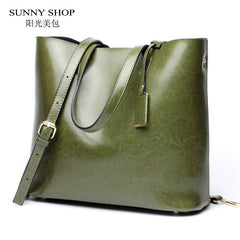 Sac à main grand en cuir SUNNY SHOP