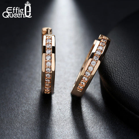 Boucles d'oreilles en zircon Effie Queen
