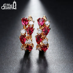 Boucles d'oreilles serties Effie Queen