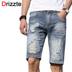 Shorts Slim denim léger