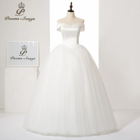 Robe de Bal en satin et organza - Collection Princesse