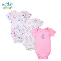 Lot de 3 bodys bébé 100% Coton Mother Nest