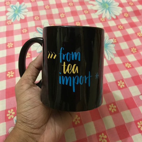 from tea import * Python Mug