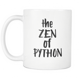"""The Zen of Python"" Mug"