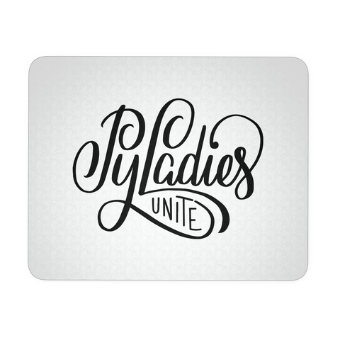 """PyLadies Unite"" Mouse Pad"