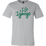 """I Love Django"" T-Shirt (Multiple Colors)"
