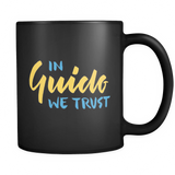 """In Guido We Trust"" Python Mug (Black)"