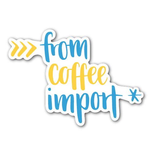 """from coffee import *"" Python Sticker"