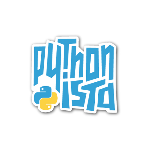 """Pythonista"" Sticker"