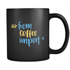 Coffee and Tea Mugs for Python Developers