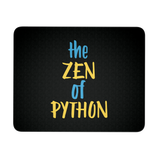 """The Zen of Python"" Mouse Pad (Black/White)"