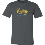 """Python: It's Good For You"" T-Shirt (Multiple Colors)"