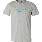 """Python Heart Dictionary"" T-Shirt (Multiple Colors)"