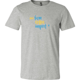 """from coffee import *"" Python T-Shirt (Multiple Colors)"