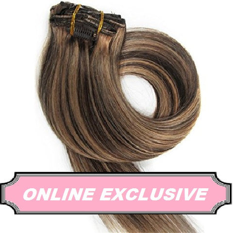 Hair Box Clip In Extensions - beauty spot warehouse