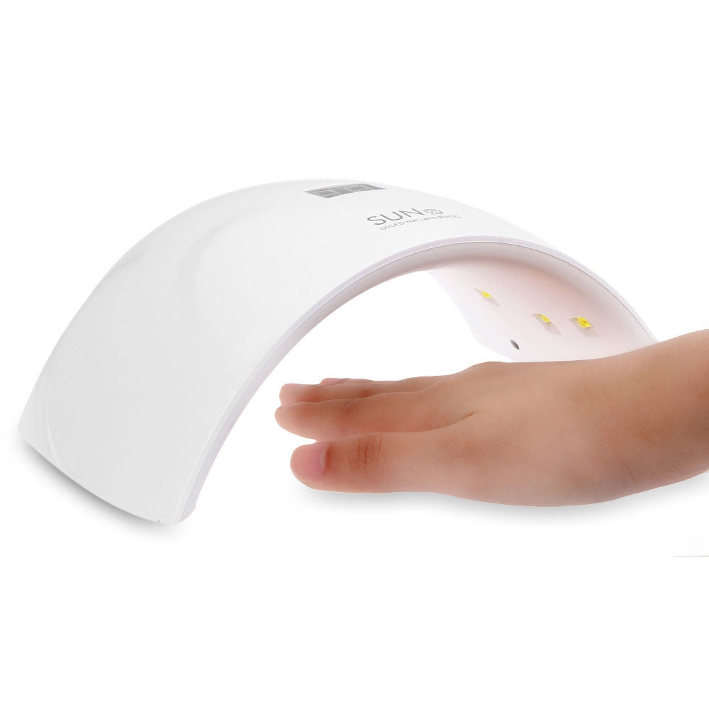 SUNUV 24W LED/UV 2 in 1 Nail Lamp - beauty spot warehouse