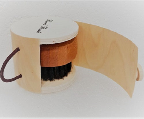 Wooden Beard Brush - beauty spot warehouse