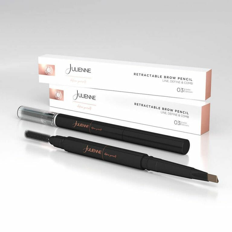 Julienne retractable brow pencil - beauty spot warehouse