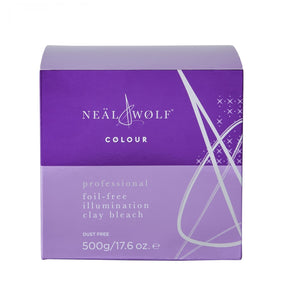 TRADE ONLY : Neal & Wolf Foil Free Illuminaton Clay Bleach - beauty spot warehouse