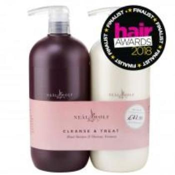 Neal & Wolf Cleanse & Treat 950ml Duo - beauty spot warehouse