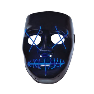 Halloween : Anarchy light up mask