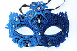 Blue lace and gem mask - beauty spot warehouse